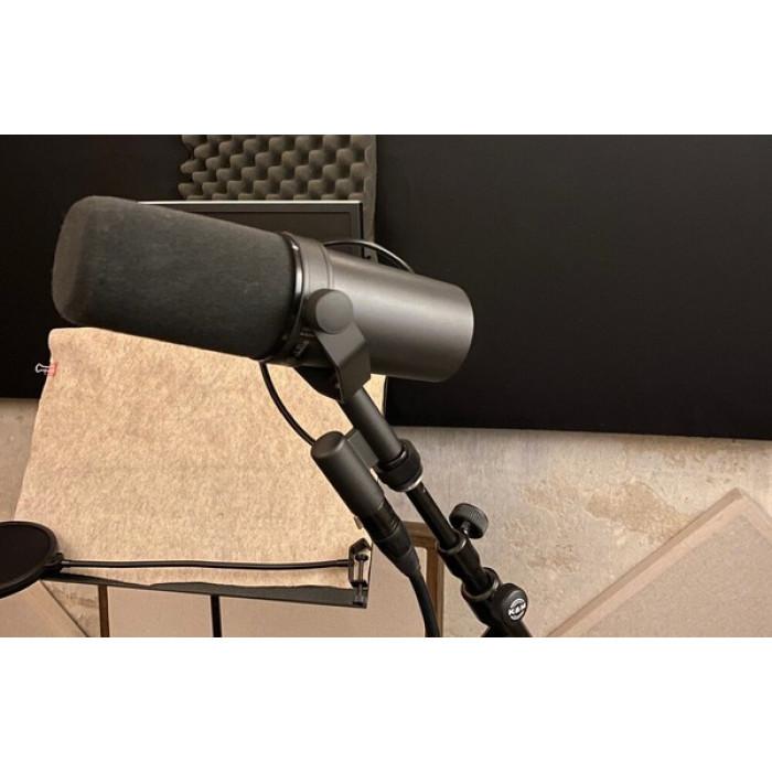 Shure SM7B: обзор культового вещательного микрофона