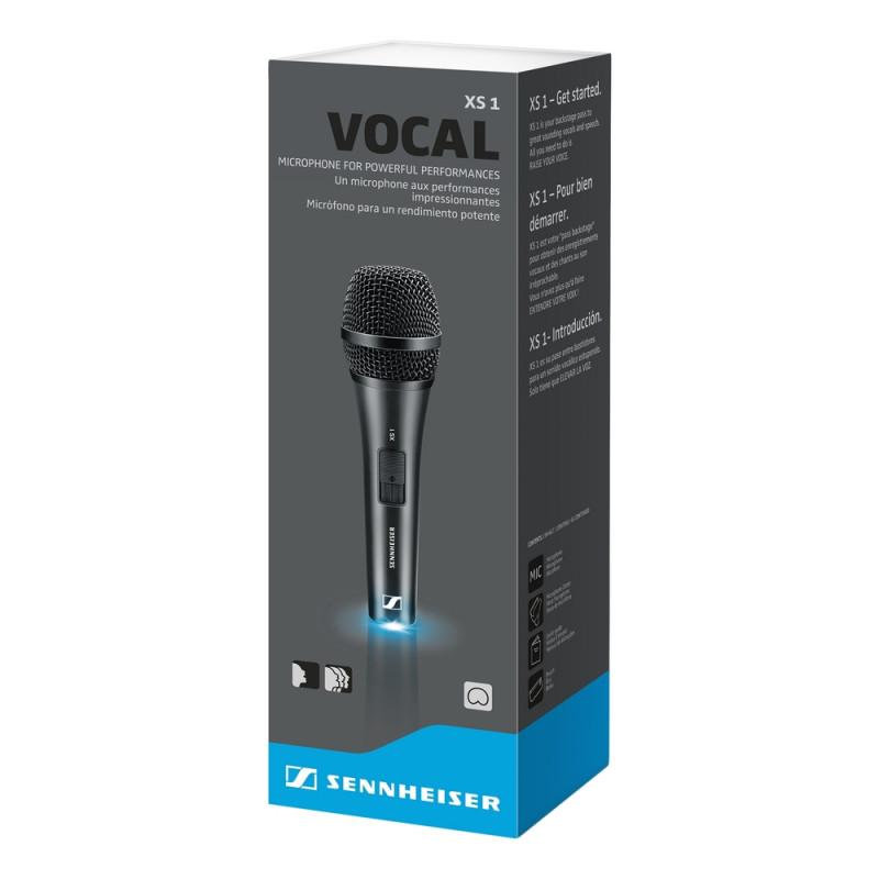 Микрофон Sennheiser XS 1, Черный