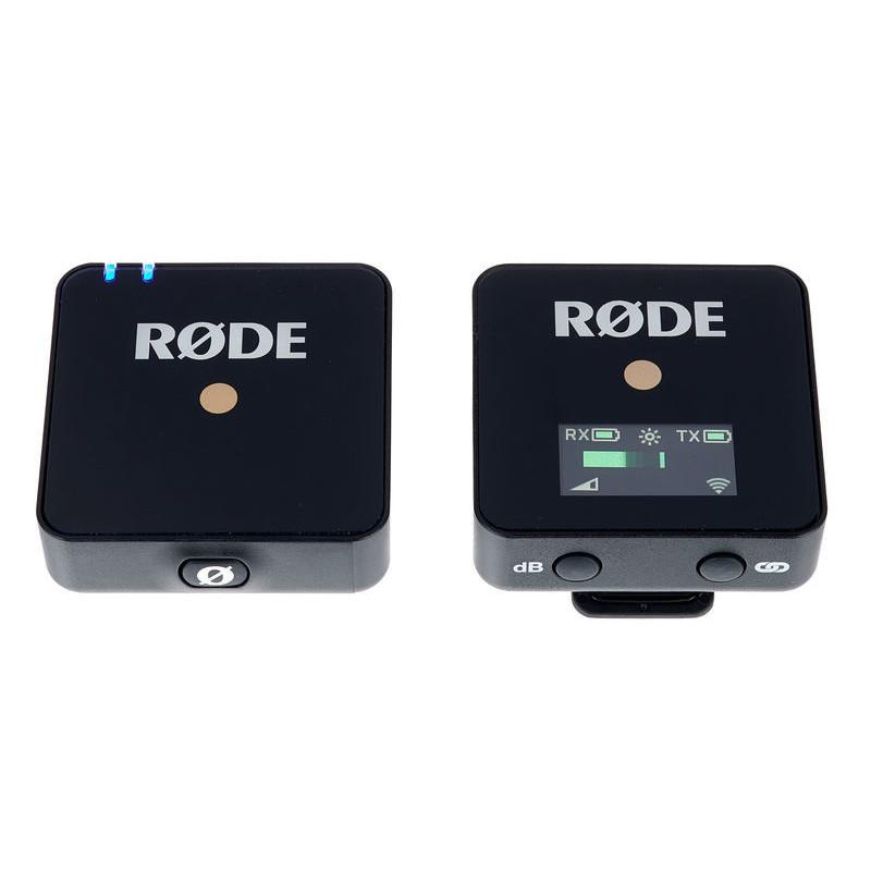 Радиосистема Rode Wireless GO, Черный