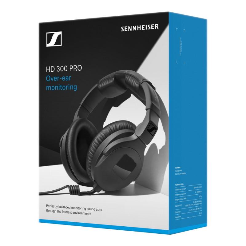 Наушники Sennheiser HD 300 PRO, Черный