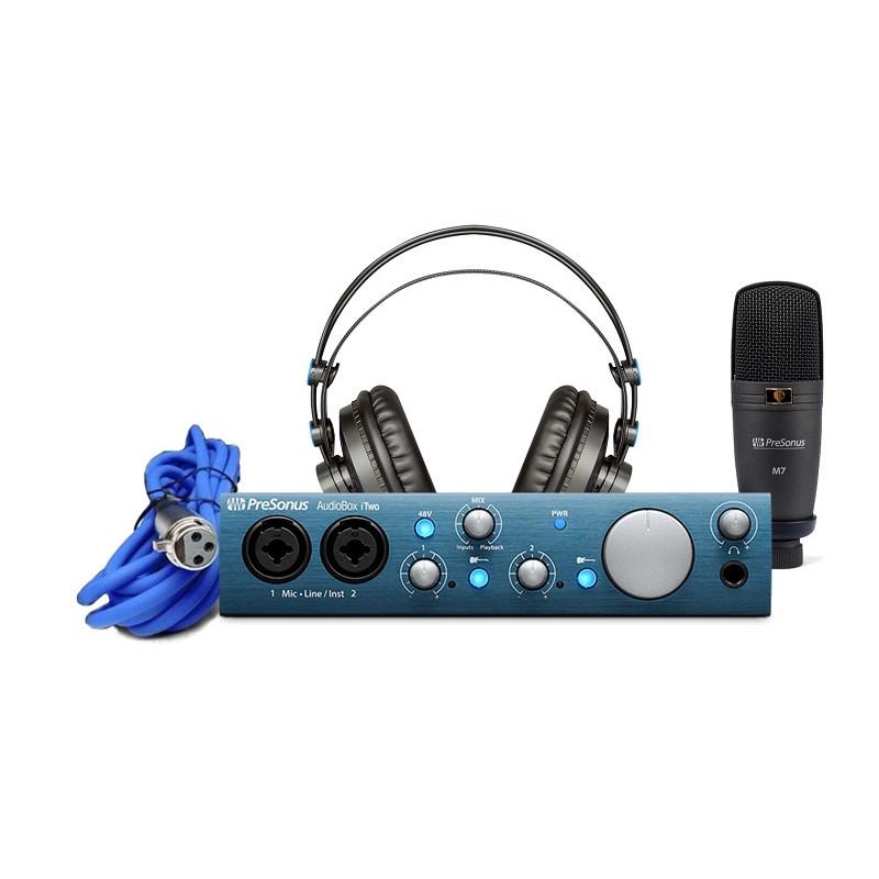 Аудио-интерфейс PreSonus AudioBox iTwo Studio
