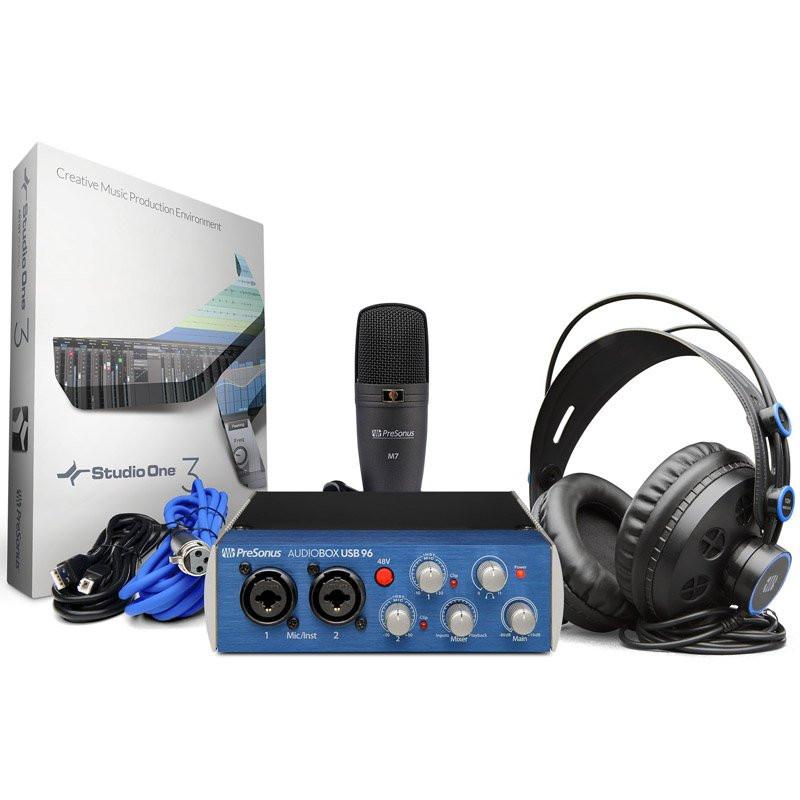 Аудио-интерфейс PreSonus AudioBox 96 STUDIO
