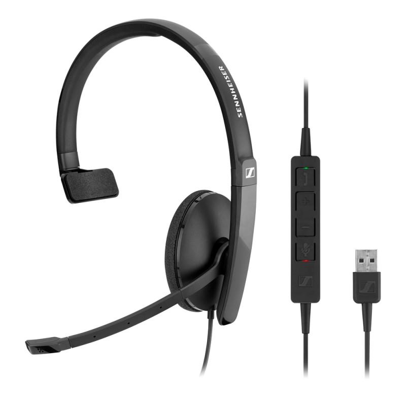 Гарнитура Sennheiser SC 130 USB, Черный