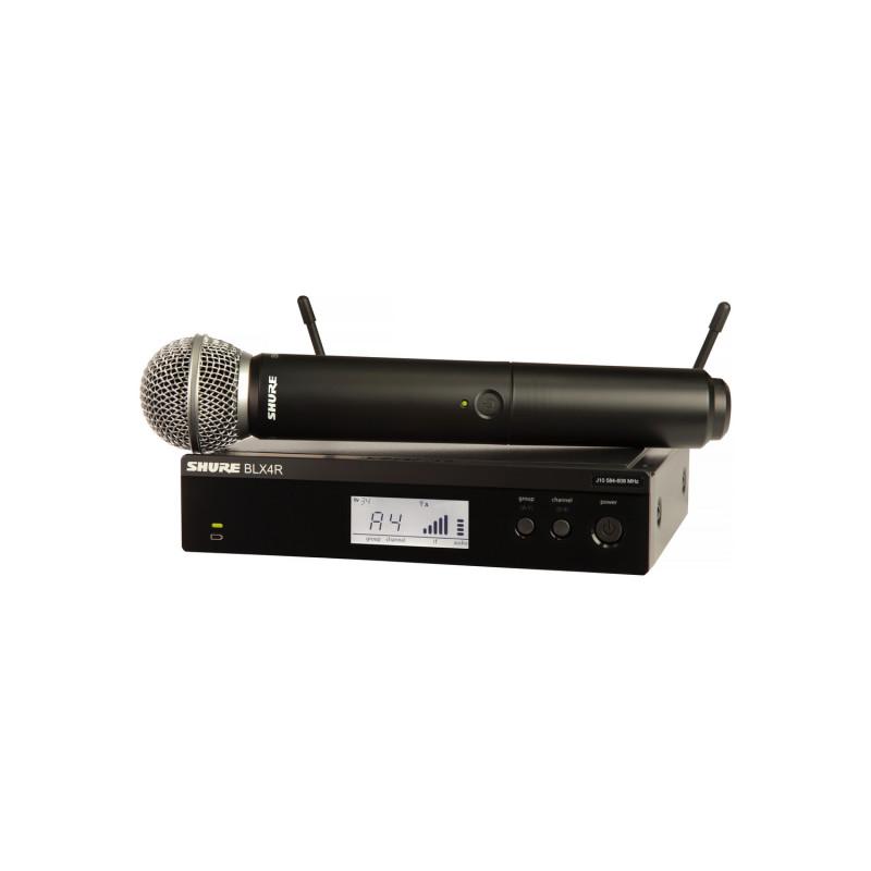 Радиосистема SHURE BLX24RE/SM58 M17, Черный
