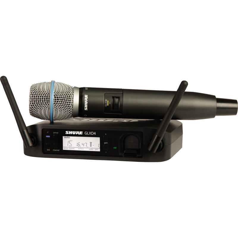 GLXD24RE/B87A Z2 2.4 GHz A071555 в фирменном магазине SHURE