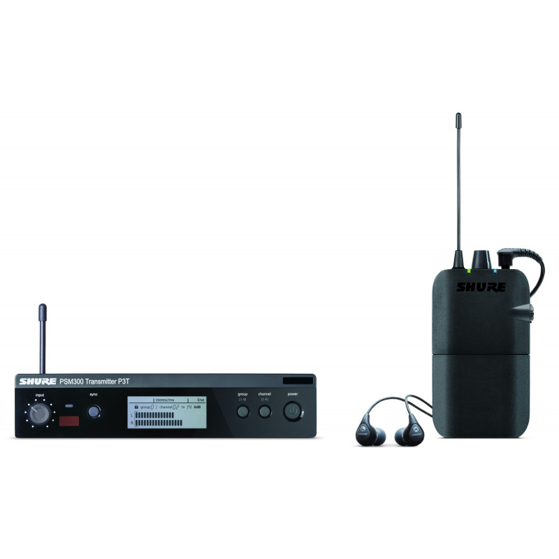 Система персонального мониторинга SHURE P3TER112GR K3E