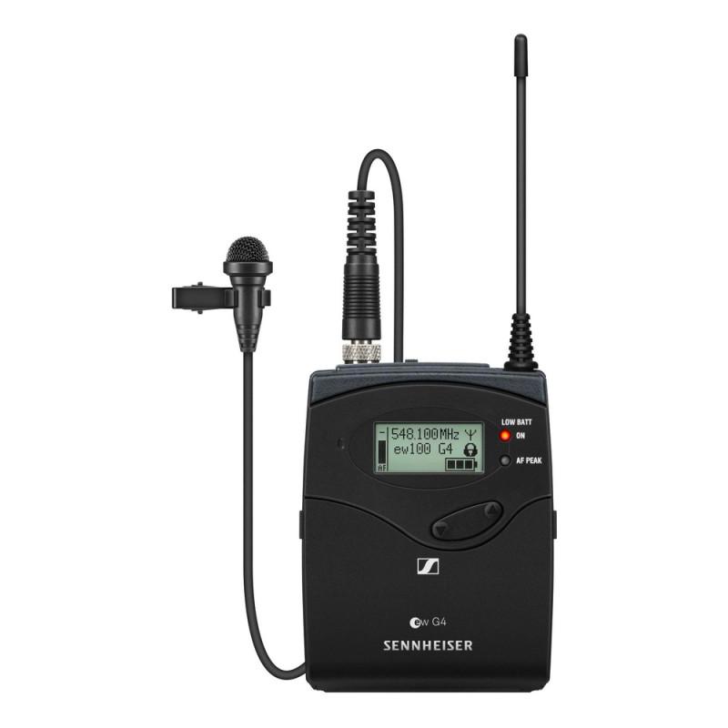 Радиосистема Sennheiser EW 100 G4-ME2/835-S-A1, Черный