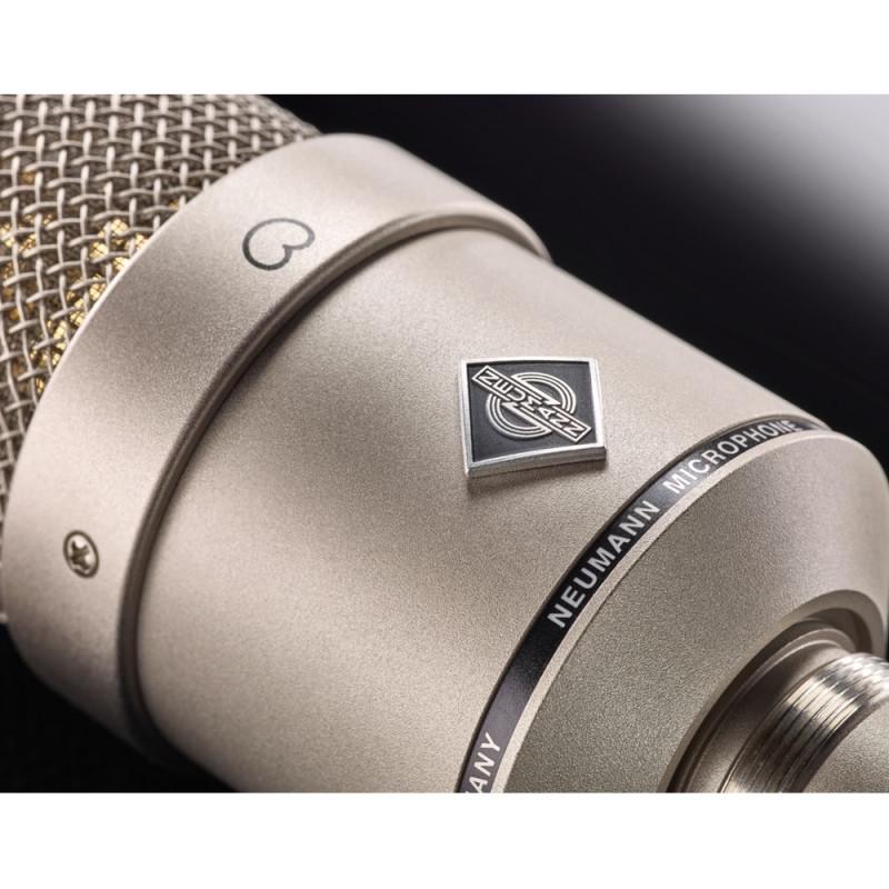 Микрофон Neumann M 147 TUBE Single, Никелевый