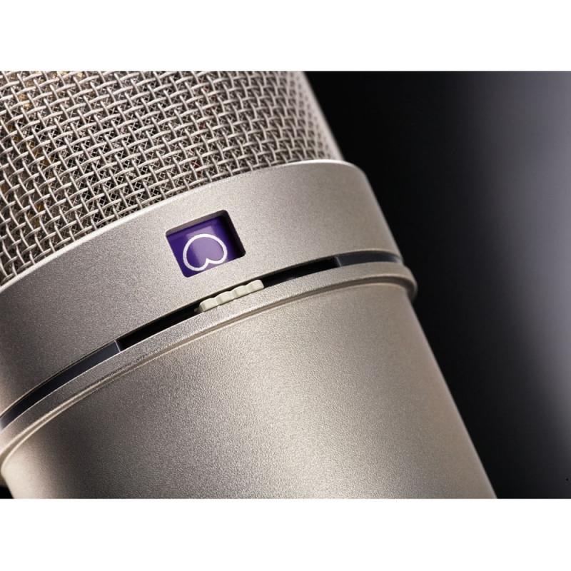 Микрофон Neumann U 87 AI STEREO SET, Никелевый