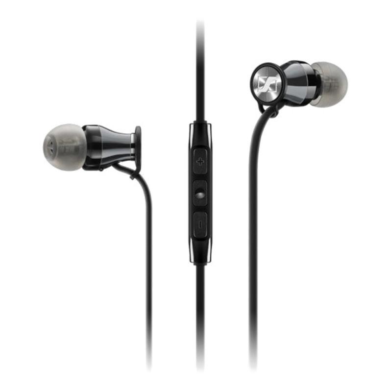 Гарнитура Sennheiser MOMENTUM In-Ear M2 IEG Black Chrome, Черный