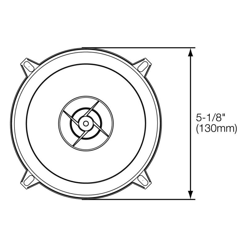 Двухполосная коаксиальная акустическая система JBL Stage 502 130 мм