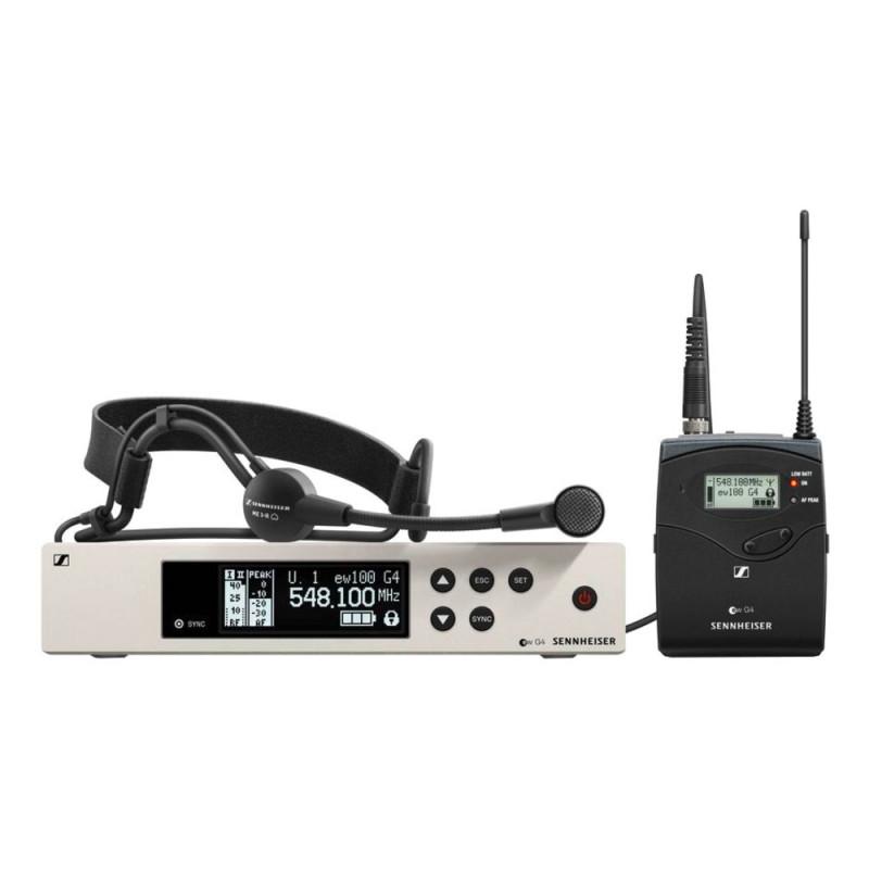 Радиосистема Sennheiser EW 100 G4-ME3-A, Черный