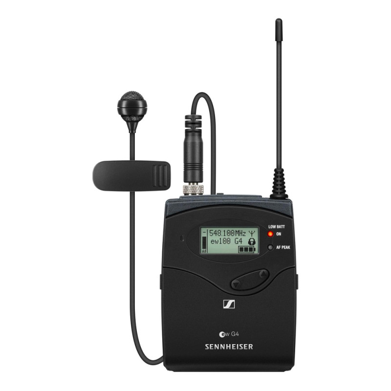 Радиосистема Sennheiser EW 100 G4-ME4-A1, Черный
