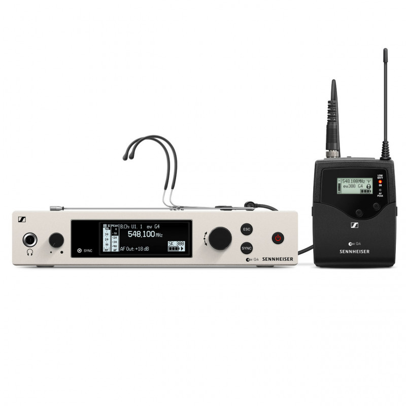 EW 300 G4-HEADMIC1-RC-GW 507681 в фирменном магазине Sennheiser