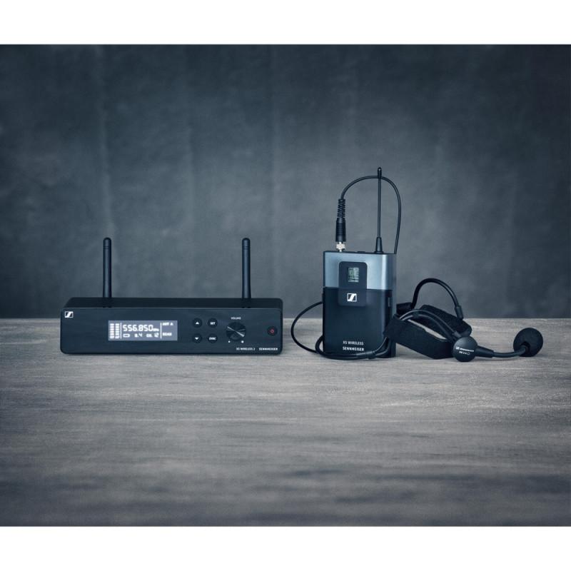 Радиосистема Sennheiser XSW 2-ME3-B, Черный