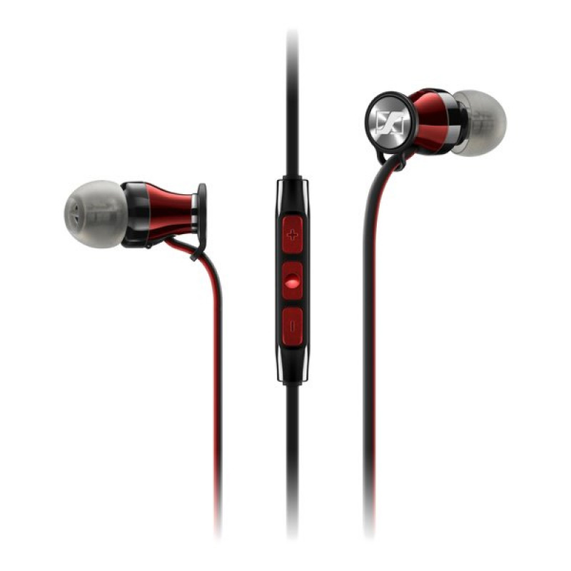 Гарнитура Sennheiser MOMENTUM In-Ear M2 IEi Black/Red, Черный/Красный