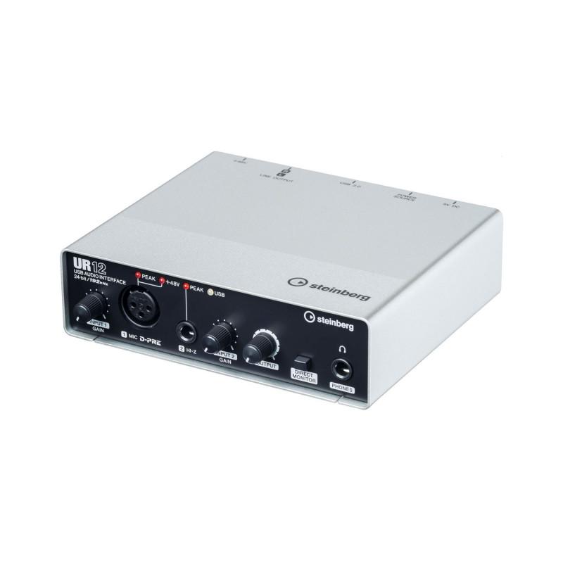 Аудио-интерфейс USB Steinberg UR12
