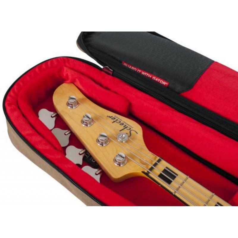 Кейс для бас-гитары Gator GT-BASS-TAN