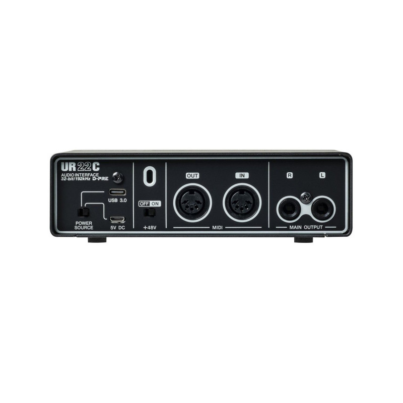 Аудио-интерфейс USB3.0 Steinberg UR22C