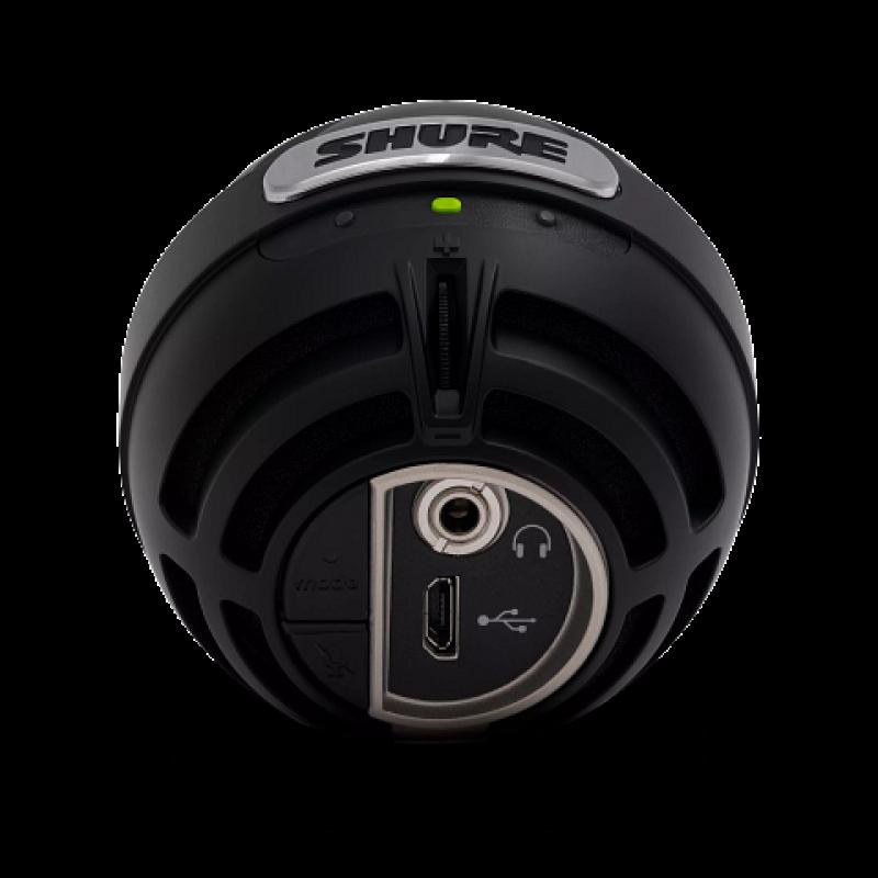 Микрофон SHURE MOTIV MV5-B-DIG, Черный