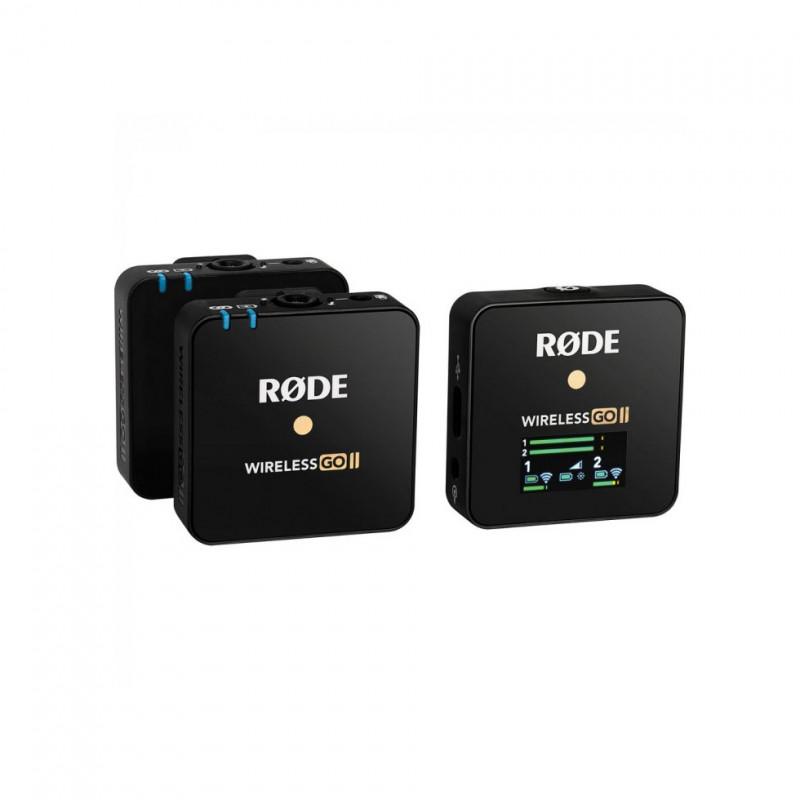 Радиосистема Rode Wireless GO II, Черный