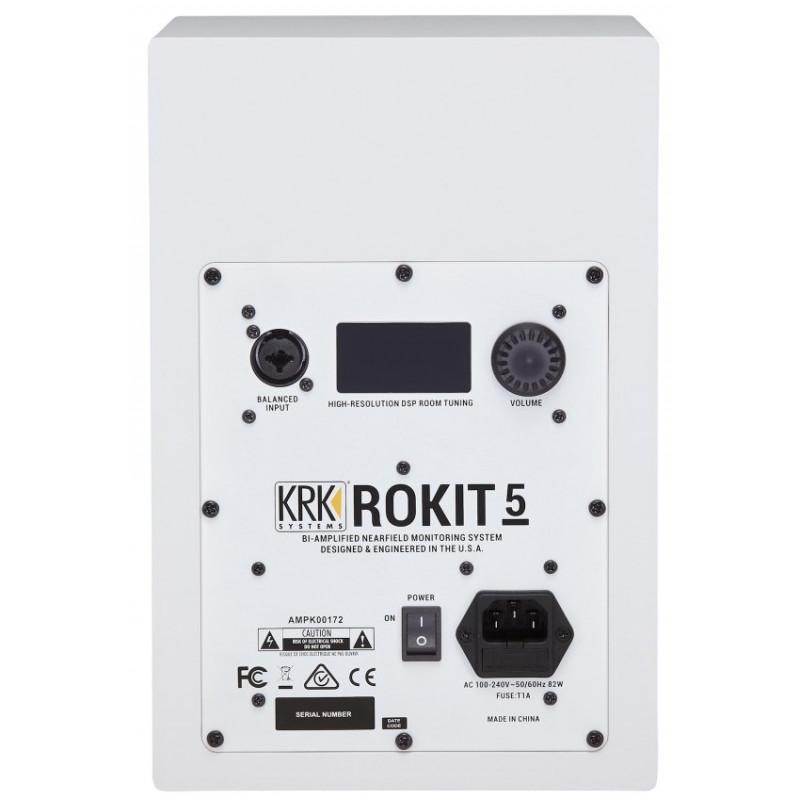 Студийный монитор KRK RP5G4WN, Белый