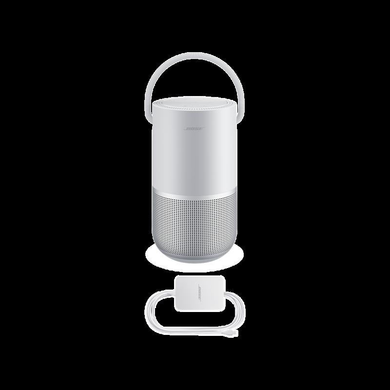 Система акустическая BOSE Portable Home Speaker, Серебристый