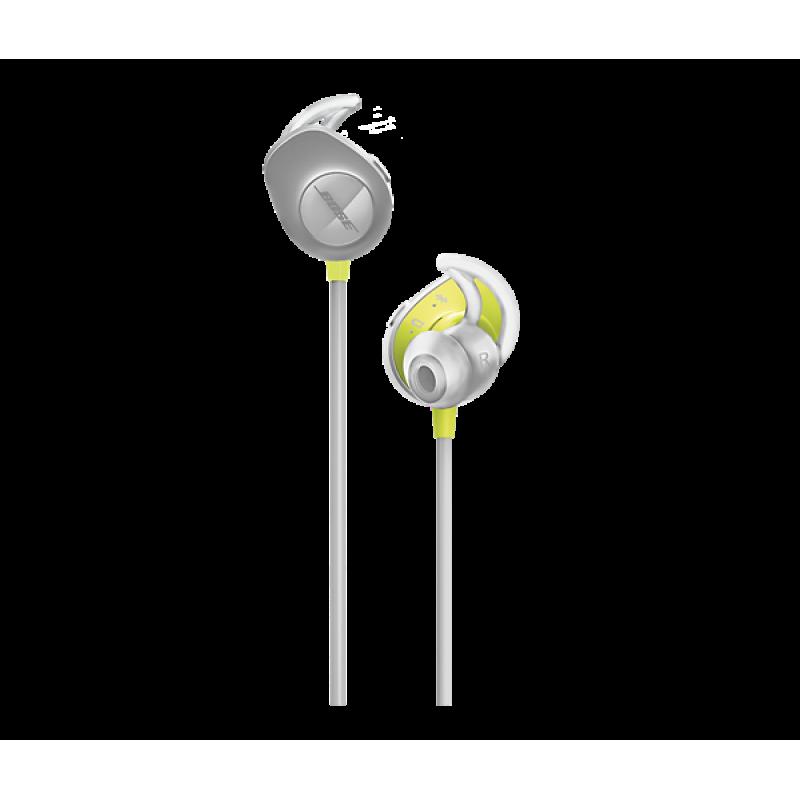 Беспроводные внутриканальные наушники BOSE SoundSport wireless, Серебристый
