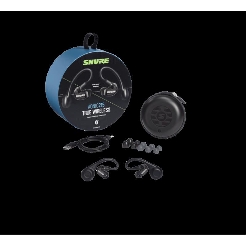 Наушники SHURE SE215-K-TW1-EFS AONIC 215, Черный
