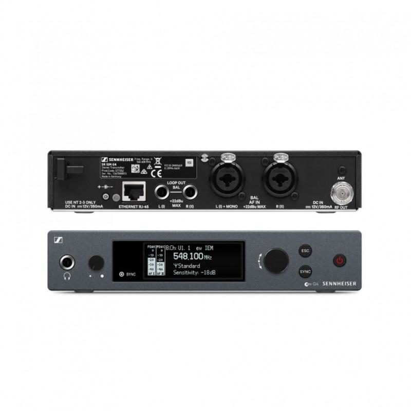 Радиосистема Sennheiser EW IEM G4-TWIN-A1, Серый